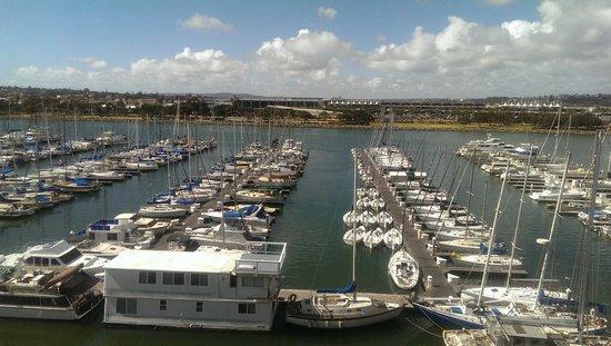 The Sheraton San Diego Hotel & Marina : Room view