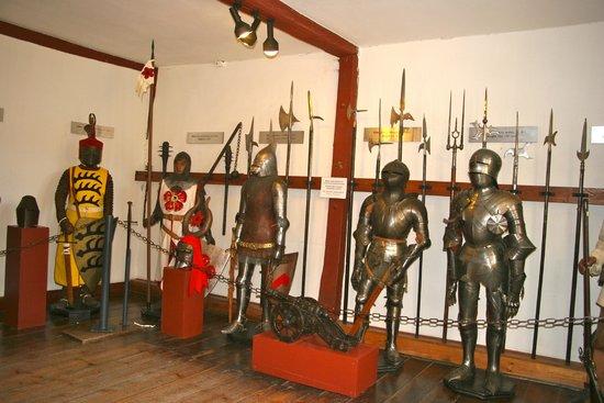Schloss Marksburg: salle des chevaliers