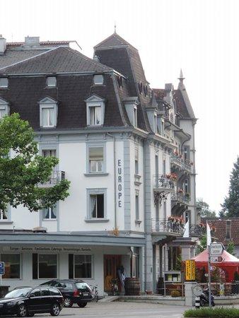 Hotel Interlaken: hotel building