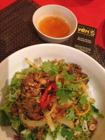 Yen's Restaurant: Bun Thit Bo Xao