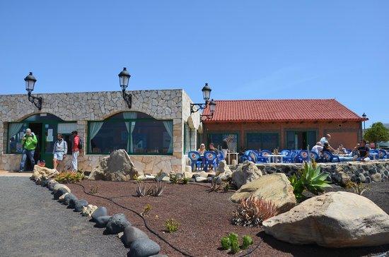 Restaurant Bahia La Pared _ face à la mer