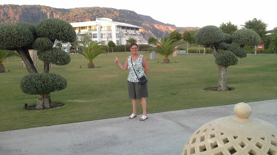 Hilton Dalaman Sarigerme Resort & Spa: in de tuin