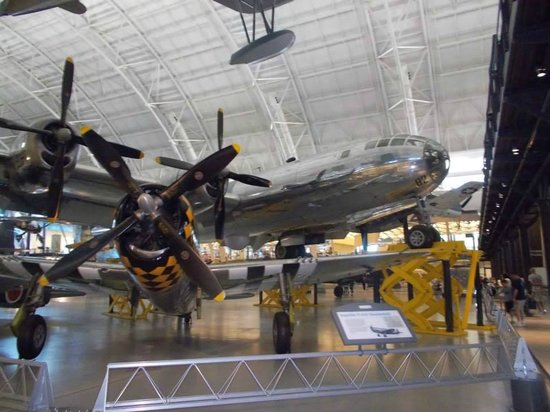 Smithsonian National Air and Space Museum Steven F. Udvar-Hazy Center: Here it is, I am finally seeing the Enola Gay