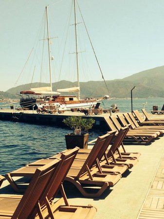 Grand Yazici Club Marmaris Palace: On the Beach but on a pier