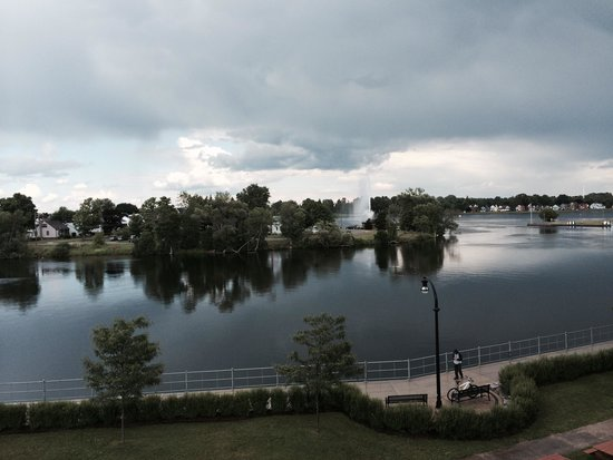 Holiday Inn Peterborough : View of the Ottonoabee