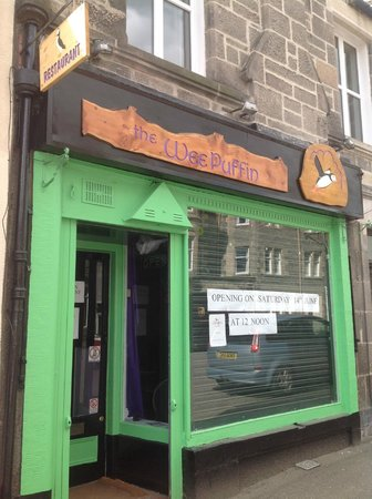 The Wee Puffin: The view from the High street