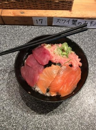 Seafood bowl Specialty restaurant Echizen Wakasaya Sanjo