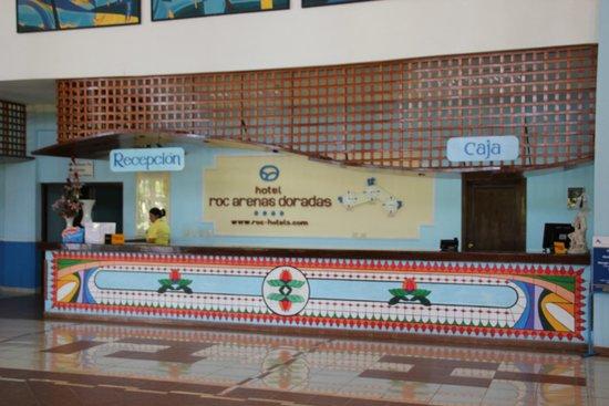 Hotel Roc Arenas Doradas: Reception