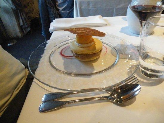 Le scorlion : dessert