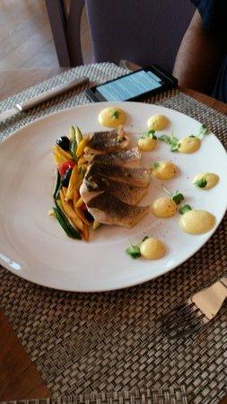 Renaissance Aix-en-Provence Hotel: Sea Bass