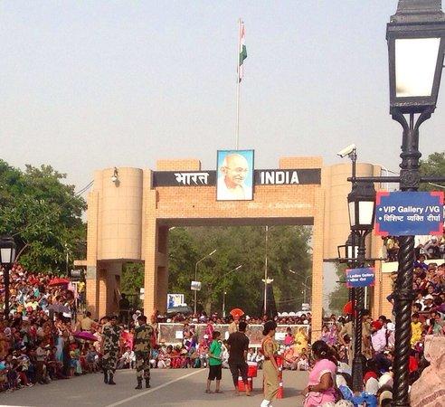 Wagah Border : Gate