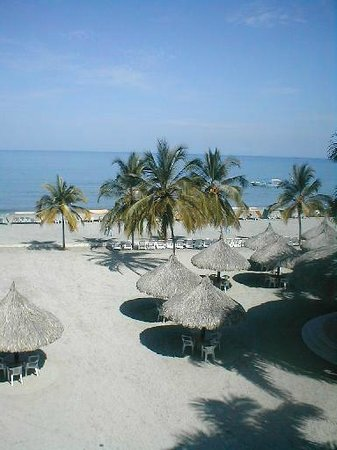 Zuana Beach Resort: bella playa