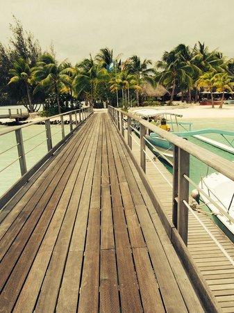 Le Meridien Bora Bora : Jetty