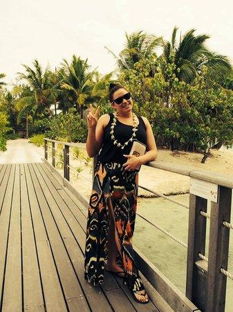 Le Meridien Bora Bora : Exploring the grounds