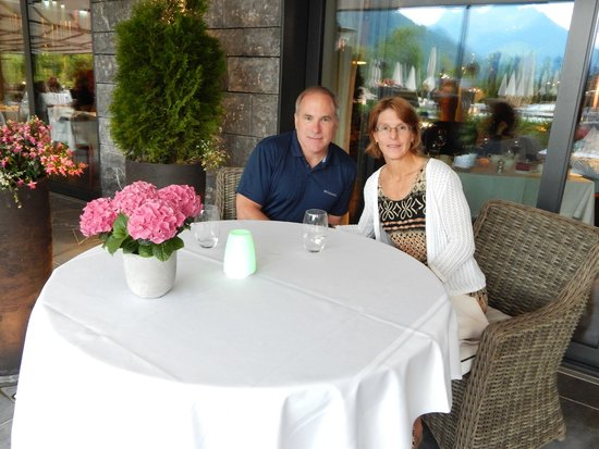 The Alpina Gstaad: Dinner