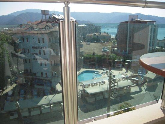 Cihanturk Hotel: view from balcony