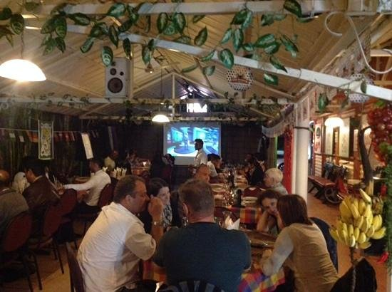 Luigi's : world cup semi finals action and delicious food