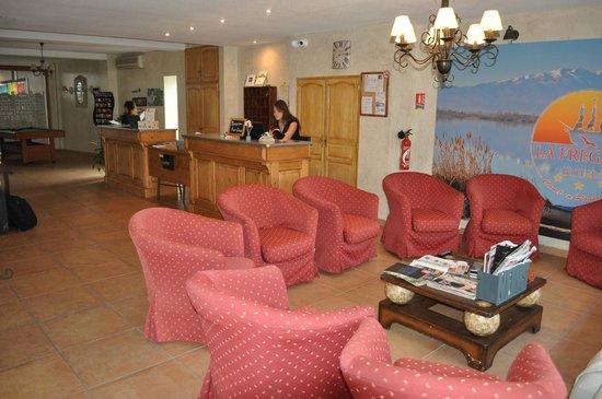 Hotel La Fregate: réception