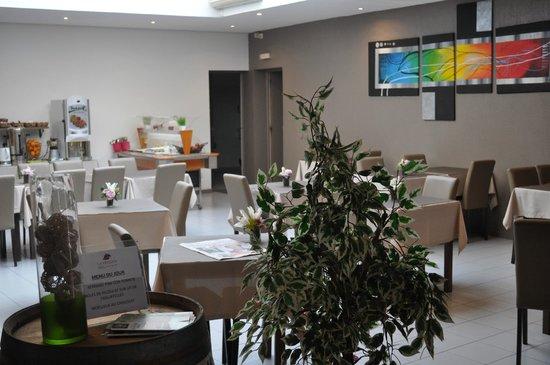 Hotel La Fregate : la salle à manger