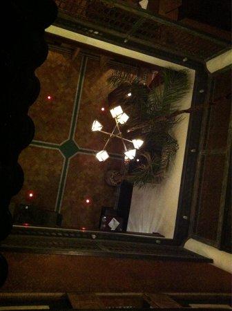 Le Comptoir du Pacha: Vue du patio