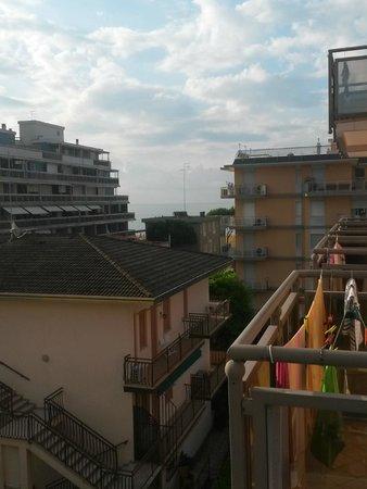 Hotel Torino: dal balcone del terzo piano