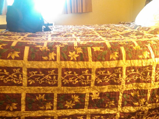 Days Inn Colorado Springs Airport: sunk in bed