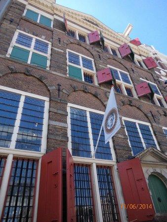 Museum Het Rembrandthuis (Rembrandt House): Fachada de la Casa de Rembrandt