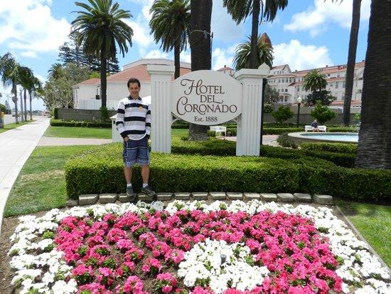 Hotel del Coronado: Aproveitei que estava em Coronado e visitei este maravilhoso hotel