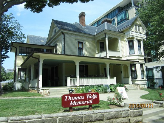 Thomas Wolfe Memorial: Thomas Wolfe's mother's boarding house