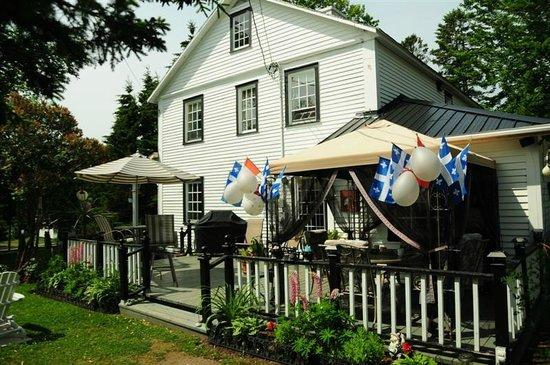 Gite La Maison Du Sheriff Sheppard : terrasse