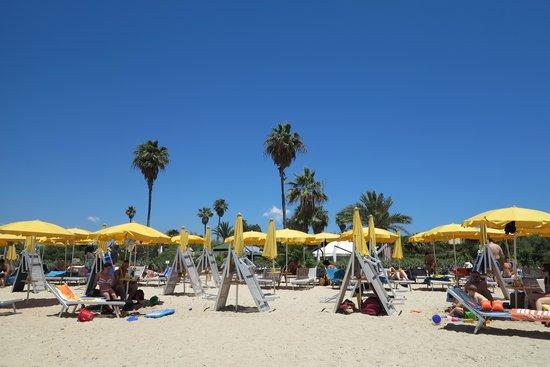 Hotel Club Saraceno: Spiaggia