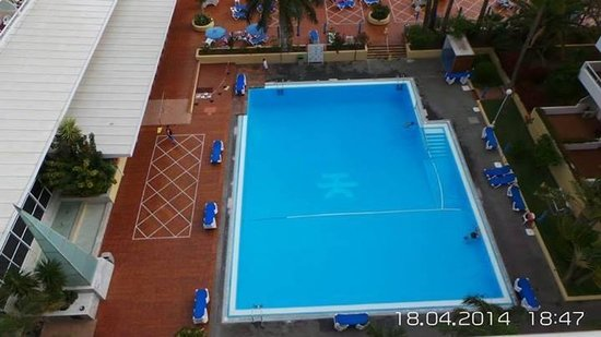 Catalonia Oro Negro : The swimming pool from our room
