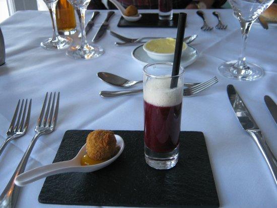Hotel Portmeirion : Appetiser