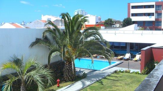 Antillia Hotel: Blick vom Balkon