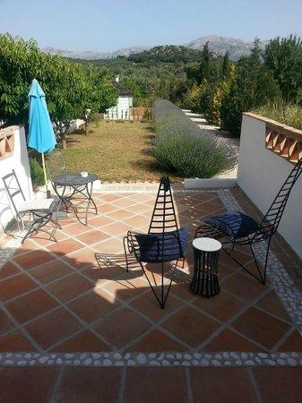 Finca Los Pinos Guesthouse: terrace Ndoro room