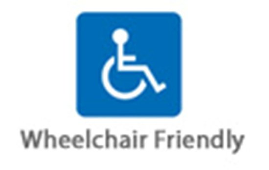 elf self catering unit is wheelchair friendly picture of whale