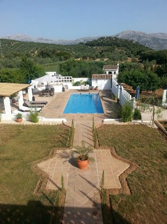 Finca Los Pinos Guesthouse: view from roofterrace