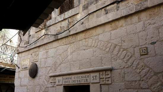 Via Dolorosa (Voie Douloureuse) : Cross Route