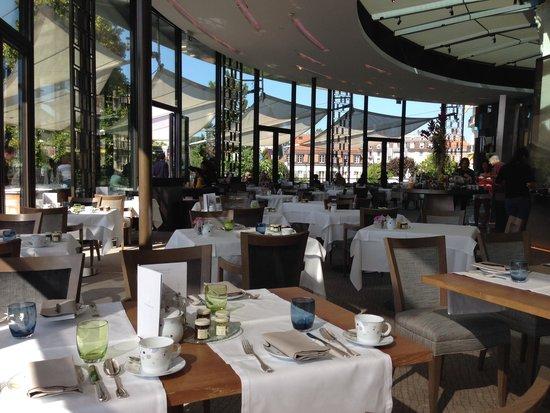 Beau-Rivage Palace : Frühstücksrestaurant