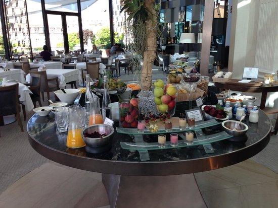 Beau-Rivage Palace: Teil des Frühstückbuffets