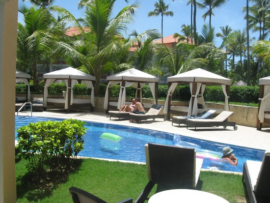 Majestic Elegance Punta Cana: view from our room. 3109