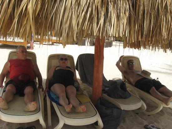 Majestic Elegance Punta Cana: ahhh. realaxation on the beach.