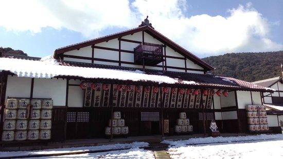Former Konpira Old Theater Kanamaruza: 外觀