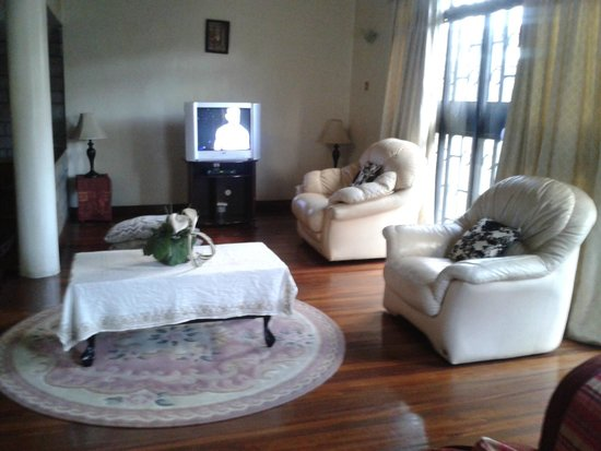 Southhood Guest House: TV Area