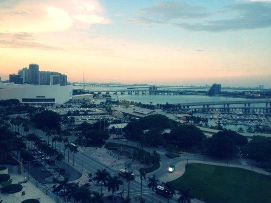 YVE Hotel Miami : Vue du 17 ème étage