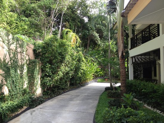 Mantra Samui Resort : way to Wow room