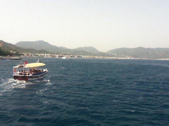 Mega Diana Boat Trip-Tours: Sailing back to Marmaris