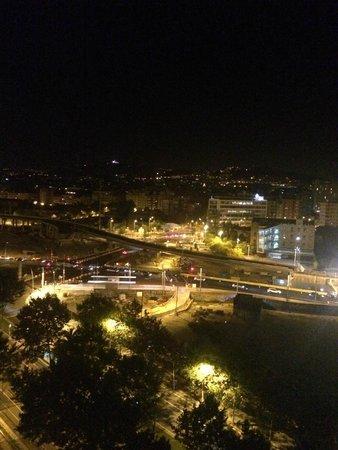 Silken Diagonal Barcelona : Blick aus dem Hotelzimmer