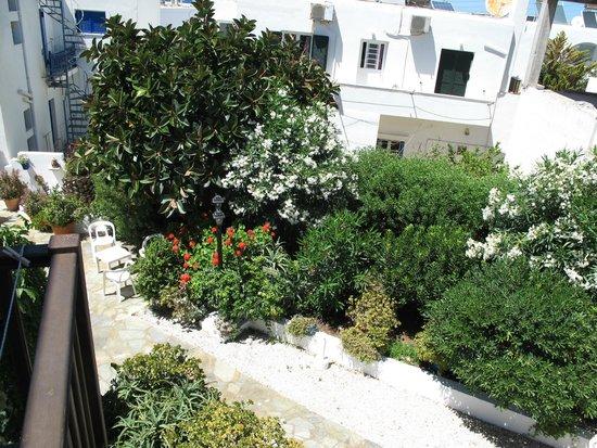 Hotel Christina: giardino dell'hotel