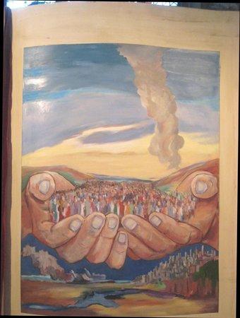 Church of Saint Peter and Saint Paul : The hand of God
